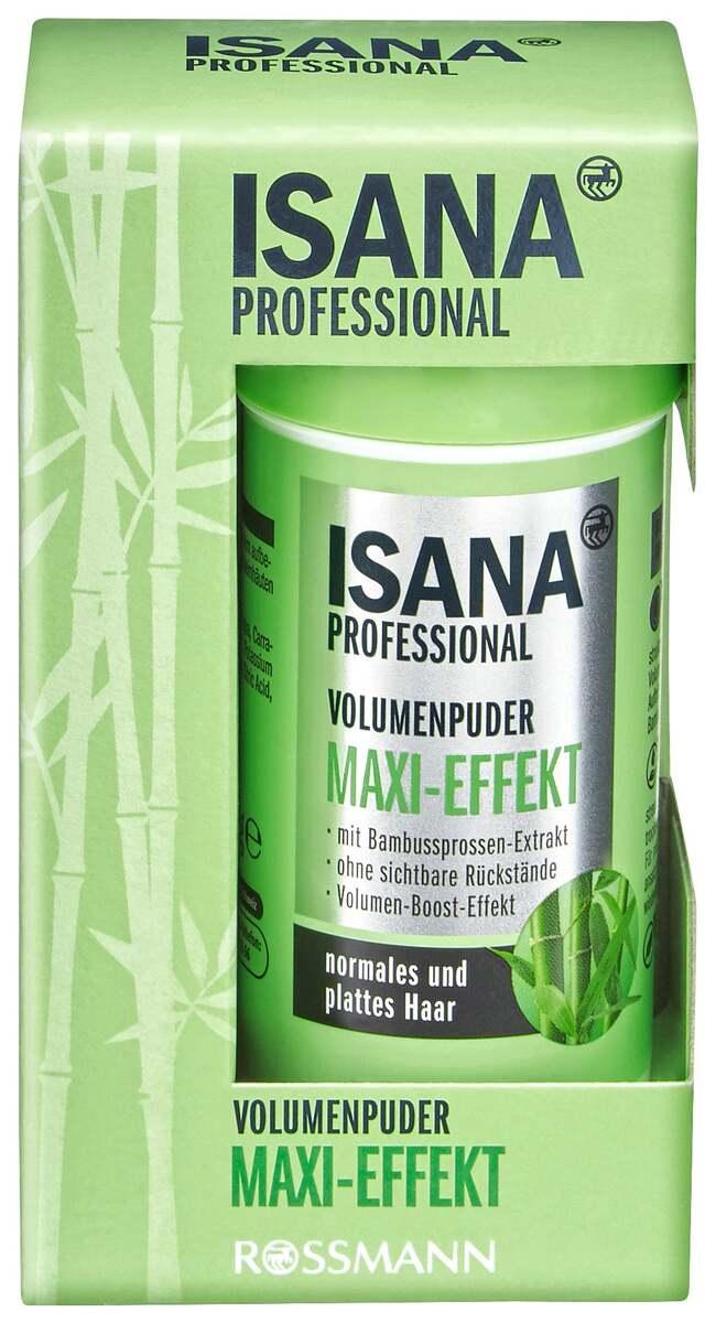 Bild 1 von ISANA Isana Professional Volumenpuder 10g, Maxi-Effekt
