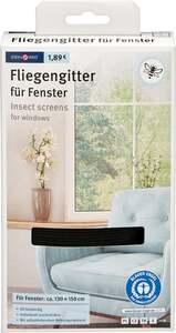IDEENWELT Insektenschutz für Fenster anthrazit