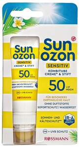 Sunozon Sensitiv Kombitube Creme & Stift LSF 50