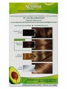 Garnier Nutrisse Dauerhafte Pflege-Haarfarbe - Karamell Dunkelblond