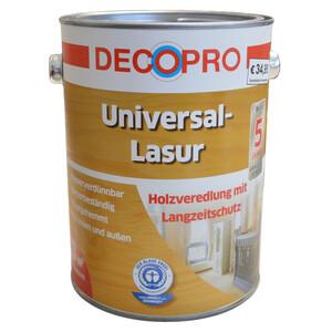 DecoPro Universal-Lasur 2,5 Liter weiß