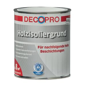DecoPro Holzisoliergrund weiß für innen und außen