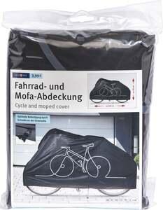 IDEENWELT Fahrrad- und Mofaabdeckung schwarz