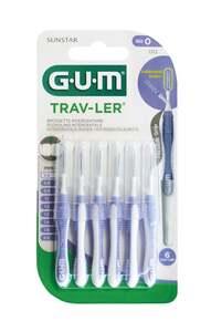 GUM® TRAV-LER® Interdentalbürste Kerze 0,6 mm hellblau