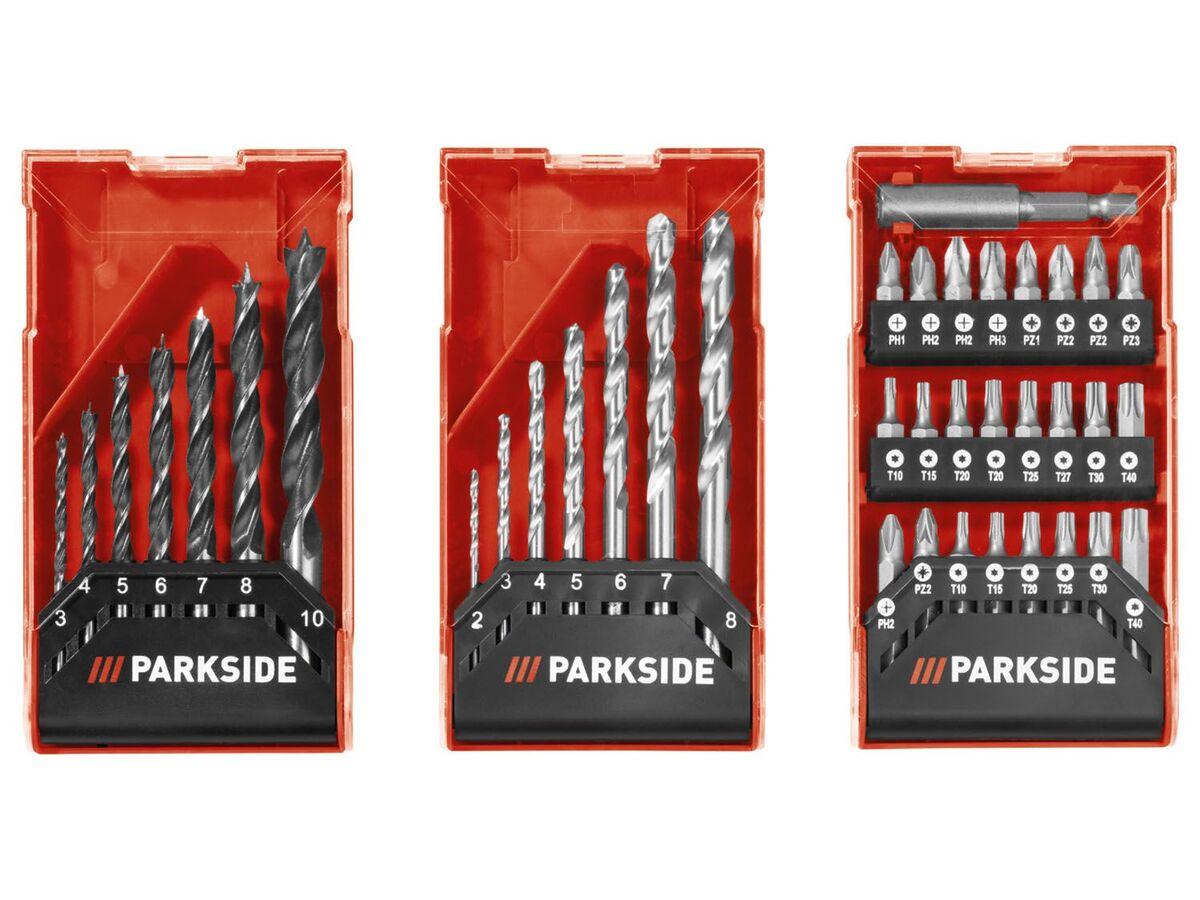 Bild 5 von PARKSIDE® Akku-Bohrschrauber mit Bohrer-Sets »PBSPA 12 A1«, mit Akku und Ladegerät