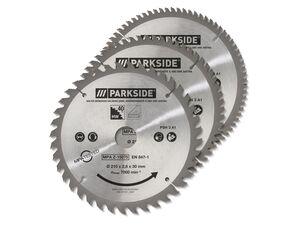 PARKSIDE® Kreissägeblätter, 3-teilig, für Kapp- u. Zugsägen