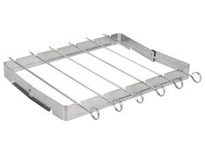 GRILLMEISTER Grillspießeset, 6-teilig, inklusive Rahmen