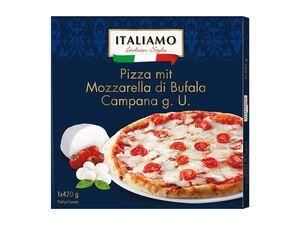 Italiamo Pizza mit Büffelmozzarella