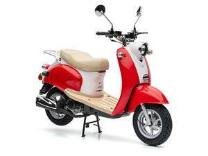 Nova Motors Motorroller »Retro Star«, Viertaktmotor, 49 ccm Hubraum, stufenlose Automatik