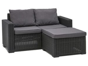 Allibert Lounge Set California anthrazit