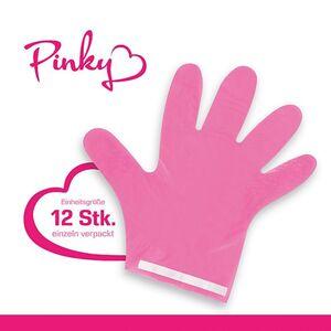 Pinky Hygienehandschuh 12er-Set pink