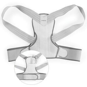 nah-vital® Rückenkorrektor mit Gelpad und Stützstäben - Größe S/M, Mehrfarbig