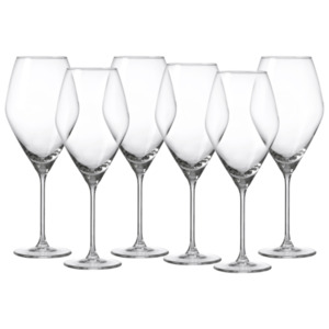 Ritzenhoff & Breker Weißweinglas Salsa 340ml 6 Stück klar, Transparent