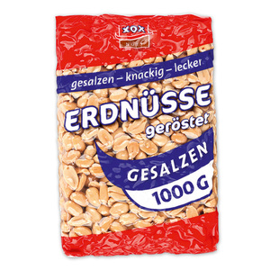 XOX GROUP Erdnüsse