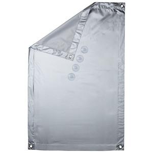 Thermo-Sonnenschutz (47x96,9cm, weiß)