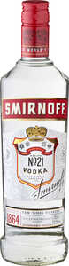 SMIRNOFF  Vodka No. 21