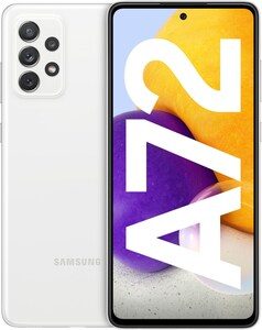Galaxy A72 (128GB) Smartphone awesome white