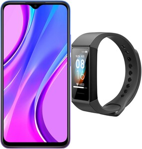 Redmi 9 (4GB+64GB) Smartphone sunset purple inkl. Mi Band 4C