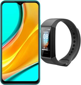 Redmi 9 (4GB+64GB) Smartphone ocean green inkl. Mi Band 4C
