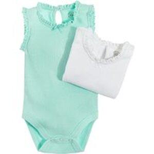 COOL CLUB Baby Body 2er Pack für Mädchen 62