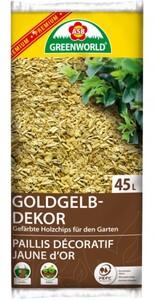 ASB Greenworld Dekochips Gelb ,  45 l