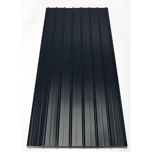 Trapezblech grau 0,40 mm, 2,00 m