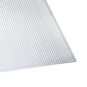 Hohlkammerplatte, transparent, 250x98x0,6cm