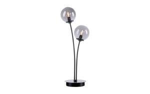 LED-Tischleuchte Widow in schwarz, 2-flammig
