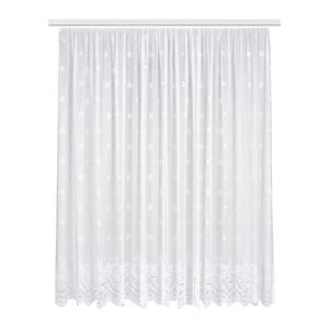 Ambiente Fertigvorhang halbtransparent 444/245 cm  Tirai  Weiß