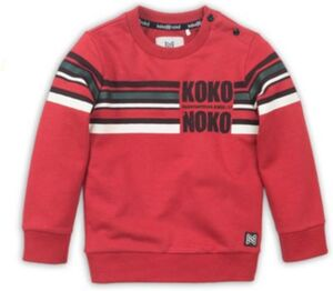Sweatshirt  rot Gr. 128 Jungen Kinder