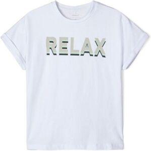 T-Shirt NKFDICTE , Organic Cotton weiß Gr. 134/140 Mädchen Kinder