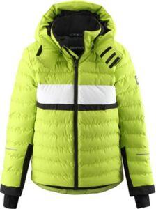 Skijacke ALKHORNET  grün Gr. 128 Jungen Kinder