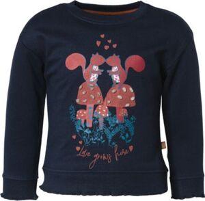 Sweatshirt  dunkelblau Gr. 92/98 Mädchen Kleinkinder