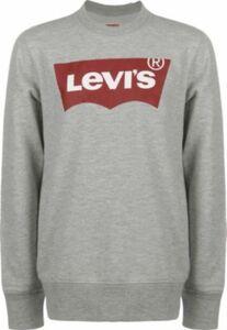 Levi's® Kids Sweater Kinder Batwing Crewneck Sweatshirts grau Gr. 140 Jungen Kinder