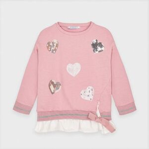 Sweatshirt  altrosa Gr. 74 Mädchen Kinder