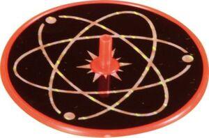 Laser Kreisel, 12 Stück farbig gemischt bunt