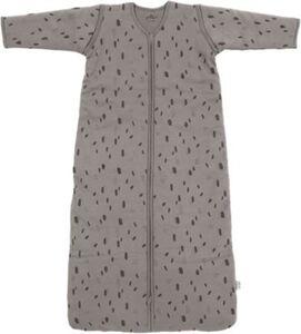 Babyschlafsack mit abnehmbaren Ärmeln, 110 cm, Spot storm grey grau