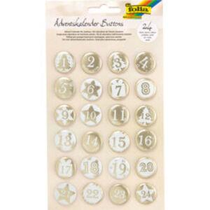 Adventskalender-Buttons