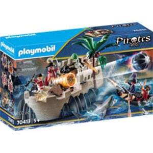 PLAYMOBIL® Pirates 70413 Rotrockbastion