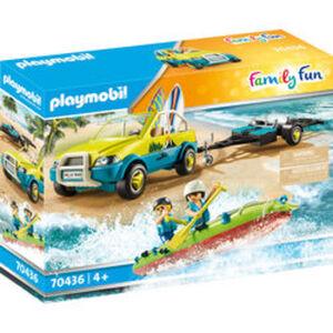 PLAYMOBIL® Family Fun 70436 Strandauto mit Kanuanhänger