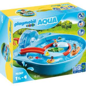 PLAYMOBIL® 1.2.3 AQUA 70267 Fröhliche Wasserbahn