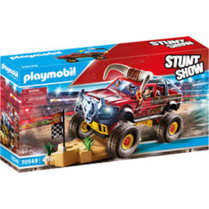 PLAYMOBIL® Stuntshow 70549 Stuntshow Monster Truck Horned