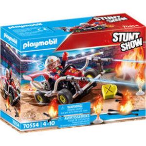 PLAYMOBIL® Stuntshow 70554 Stuntshow Feuerwehrkart