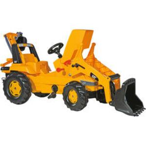 rolly® toys Trettraktor CAT mit Lader & Heckbagger