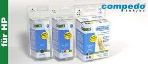 Druckerpatrone für HP 21+22 2er Multipack (BK/COL)