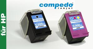 Druckerpatrone für HP 300XL/CC641EE schwarz
