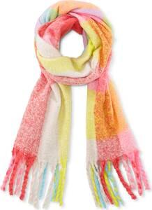 COX, Karo-Schal in rosa, Tücher & Schals für Damen