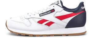 Reebok Classic, Sneaker Classic Leather Mu in weiß, Sneaker für Herren