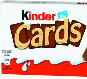 kinder Cards Waffeln