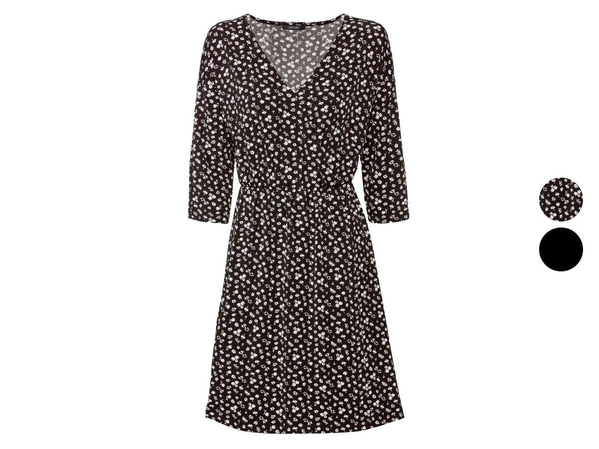 Bild 1 von ESMARA® Kleid Damen, in Wickeloptik, mit V-Ausschnitt